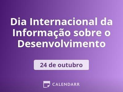 Dia Internacional da Informação sobre o Desenvolvimento