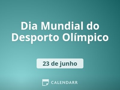 Dia Mundial do Desporto Olímpico