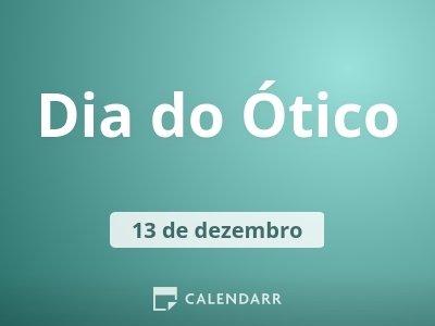 Dia do Ótico