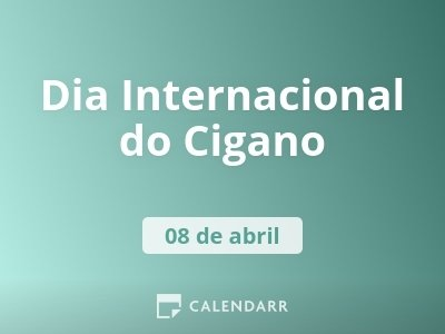 Dia Internacional do Cigano