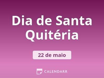 Dia de Santa Quitéria