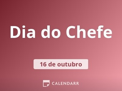 Dia do Chefe