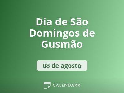 Dia de São Domingos de Gusmão