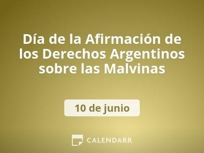 Día de la Afirmación de los Derechos Argentinos sobre las Malvinas