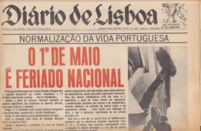 1º de Maio em Portugal