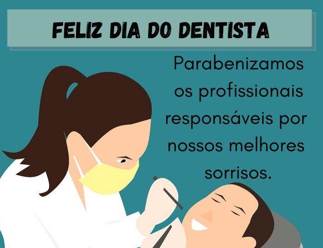 feliz dia do dentista