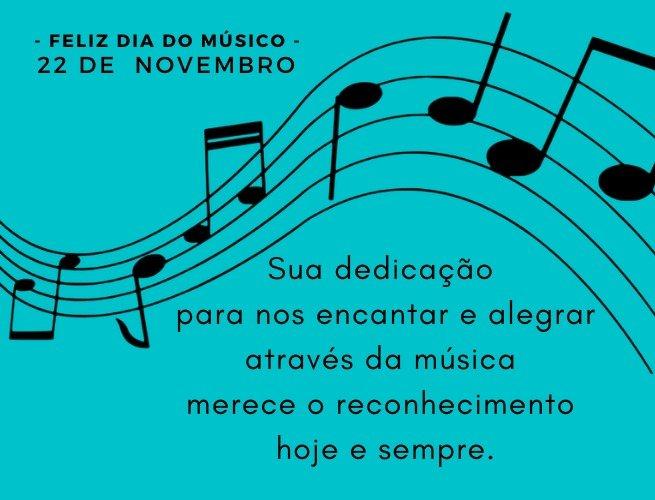 mensagem para o dia do músico