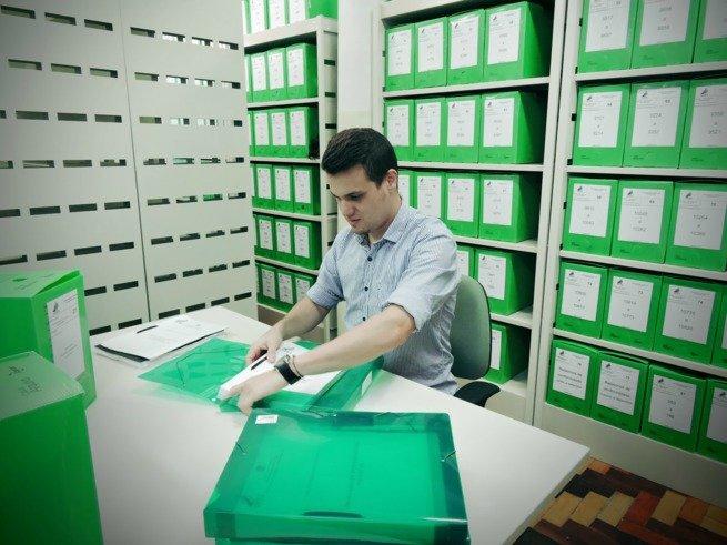 arquivista ou técnico de arquivo