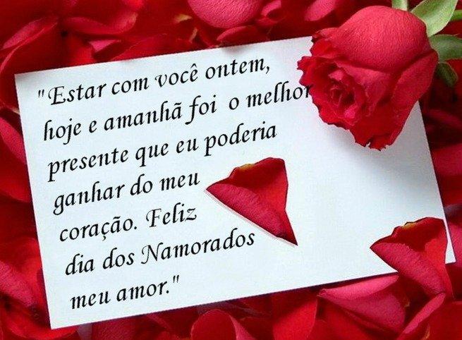 Mensagem para o Dia de São Valentim