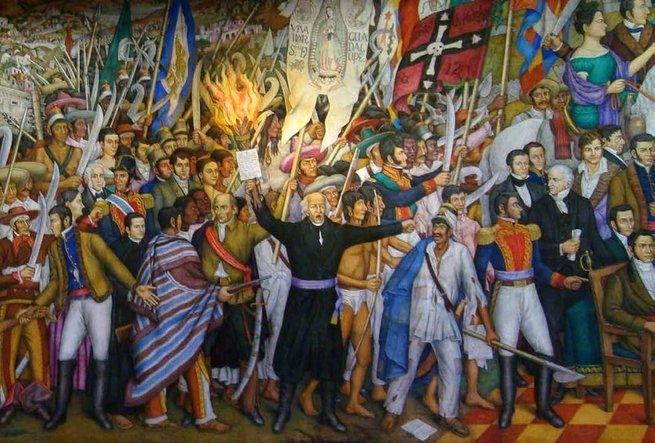 Mural de la Independencia de Juan O´Gorman