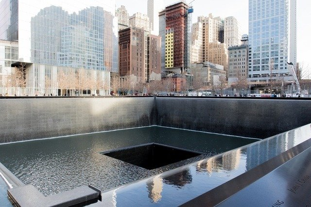 Ground zero 9/11 Memorial