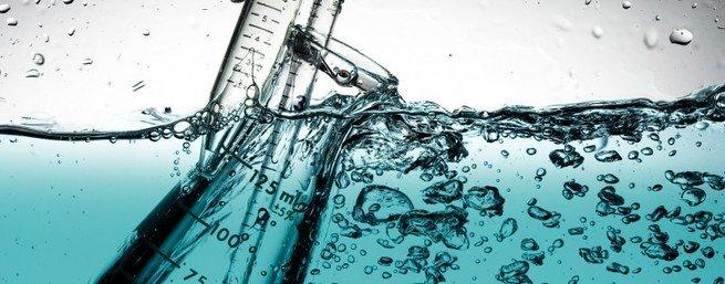 análise da água