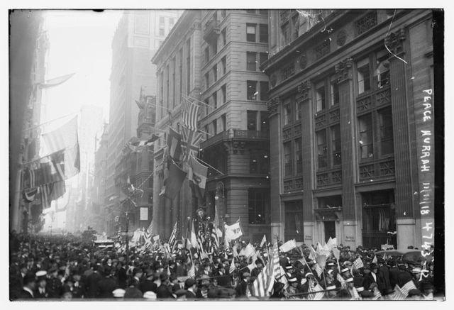Armistice Parades 1918