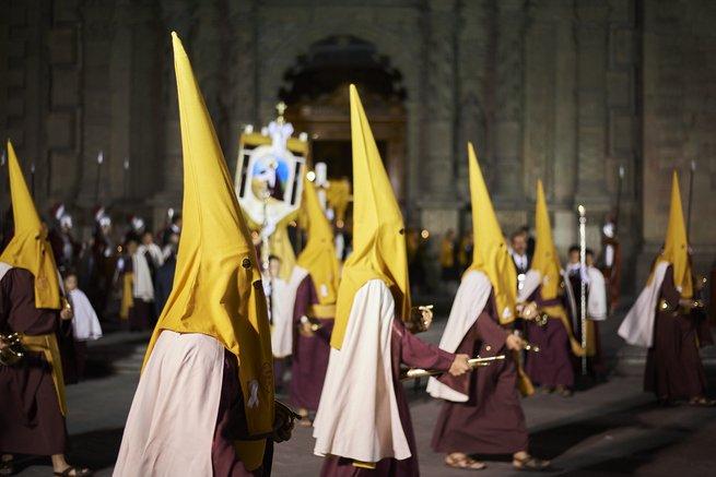 procesion del silencio viernes santo