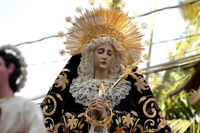 virgen viernes santo
