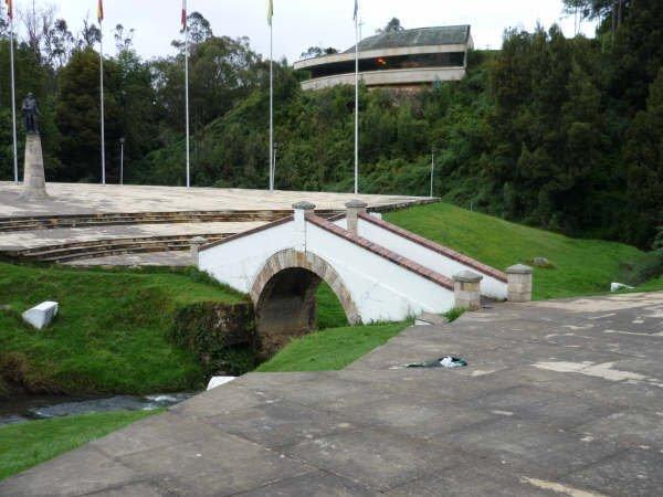 Imagen actual del Puente de Boyacá