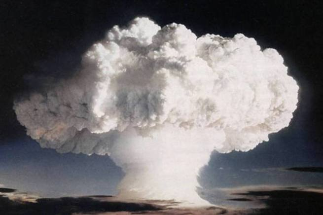 testes nucleares