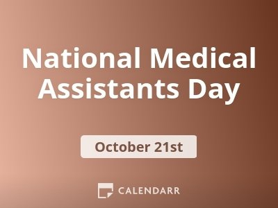 National Medical Assistants Day