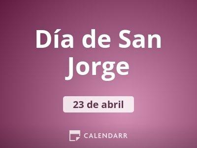 Día de San Jorge