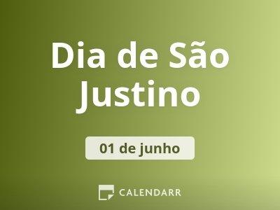 Dia de São Justino