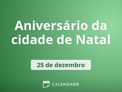 Aniversário da cidade de Natal