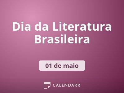 Dia da Literatura Brasileira