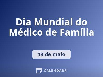 Dia Mundial do Médico de Família