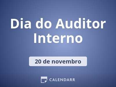 Dia do Auditor Interno