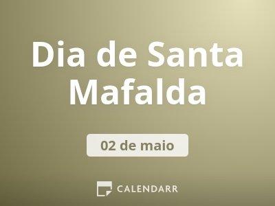 Dia de Santa Mafalda