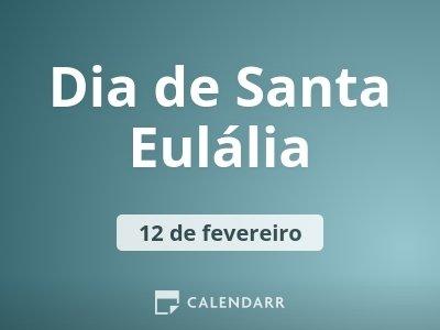 Dia de Santa Eulália