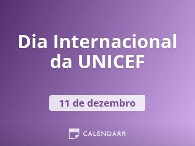 Dia Internacional da UNICEF