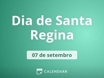 Dia de Santa Regina