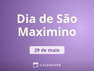 Dia de São Maximino