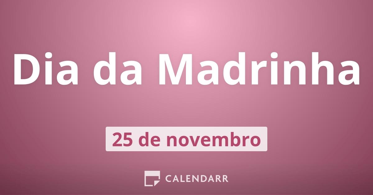 Tenha Um Dia Especial Madrinha: Dia Da Madrinha