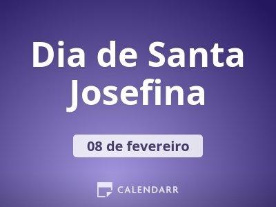 Dia de Santa Josefina