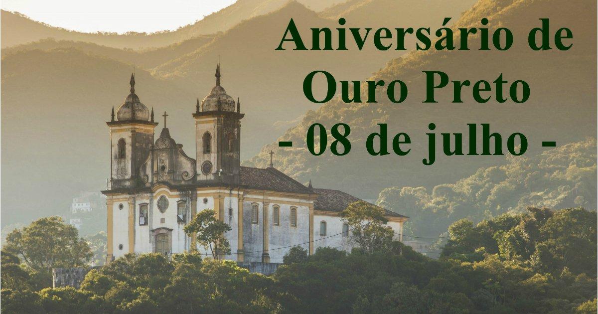 Aniversário de Ouro Preto
