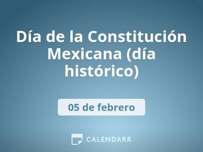 Día de la Constitución (día histórico)