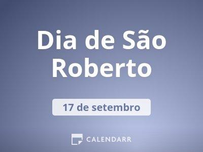 Dia de São Roberto