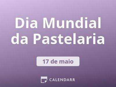 Dia Mundial da Pastelaria