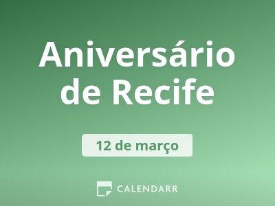 Aniversário de Recife
