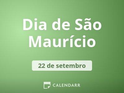 Dia de São Maurício
