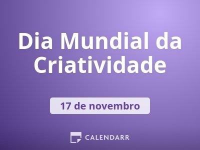 Dia Mundial da Criatividade