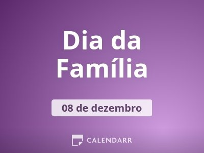 Dia da Família