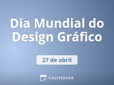 Dia Mundial do Design Gráfico