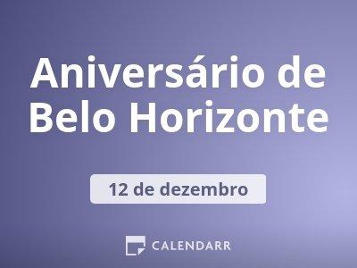 Aniversário de Belo Horizonte