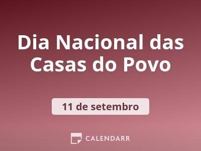 Dia Nacional das Casas do Povo