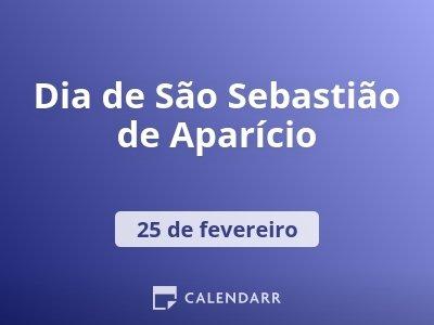Dia de São Sebastião de Aparício
