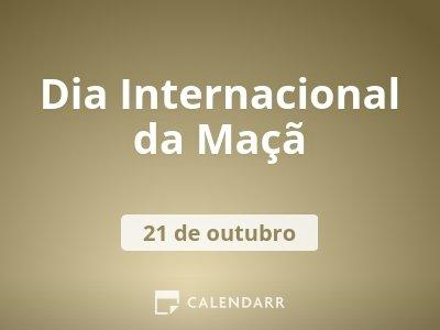 Dia Internacional da Maçã