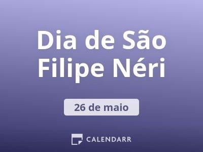 Dia de São Filipe Néri