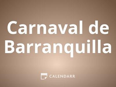 Inicio del Carnaval de Barranquilla